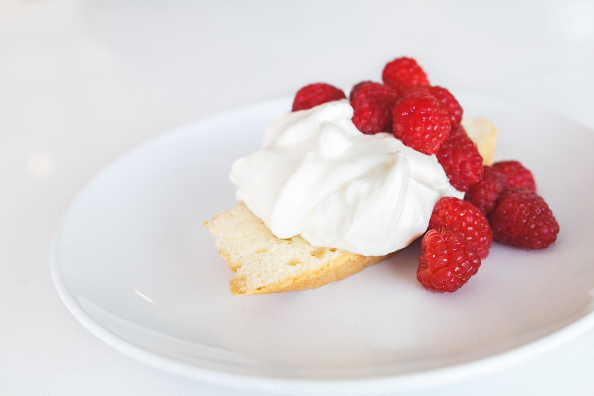 easy kitchen remodel recipe lemon mousse raspberry dessert blender food processor