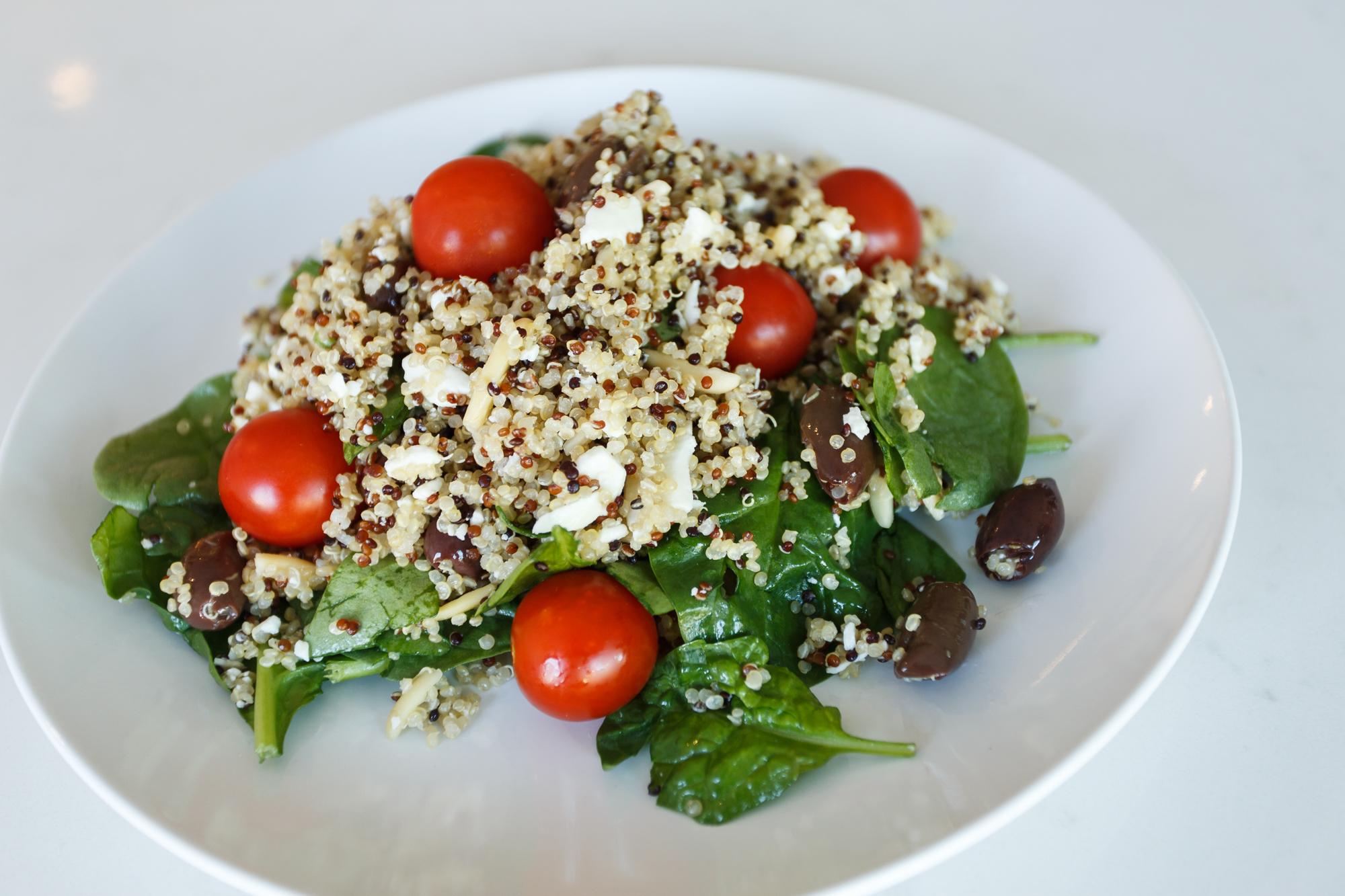 quinoa salad mediterranean easy remodel recipe