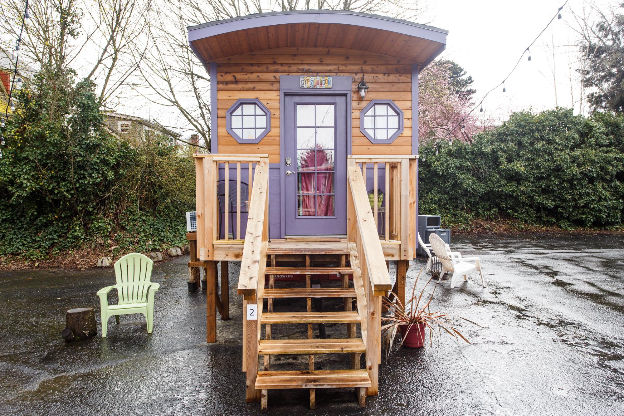 portland oregon tiny homes pdx front door