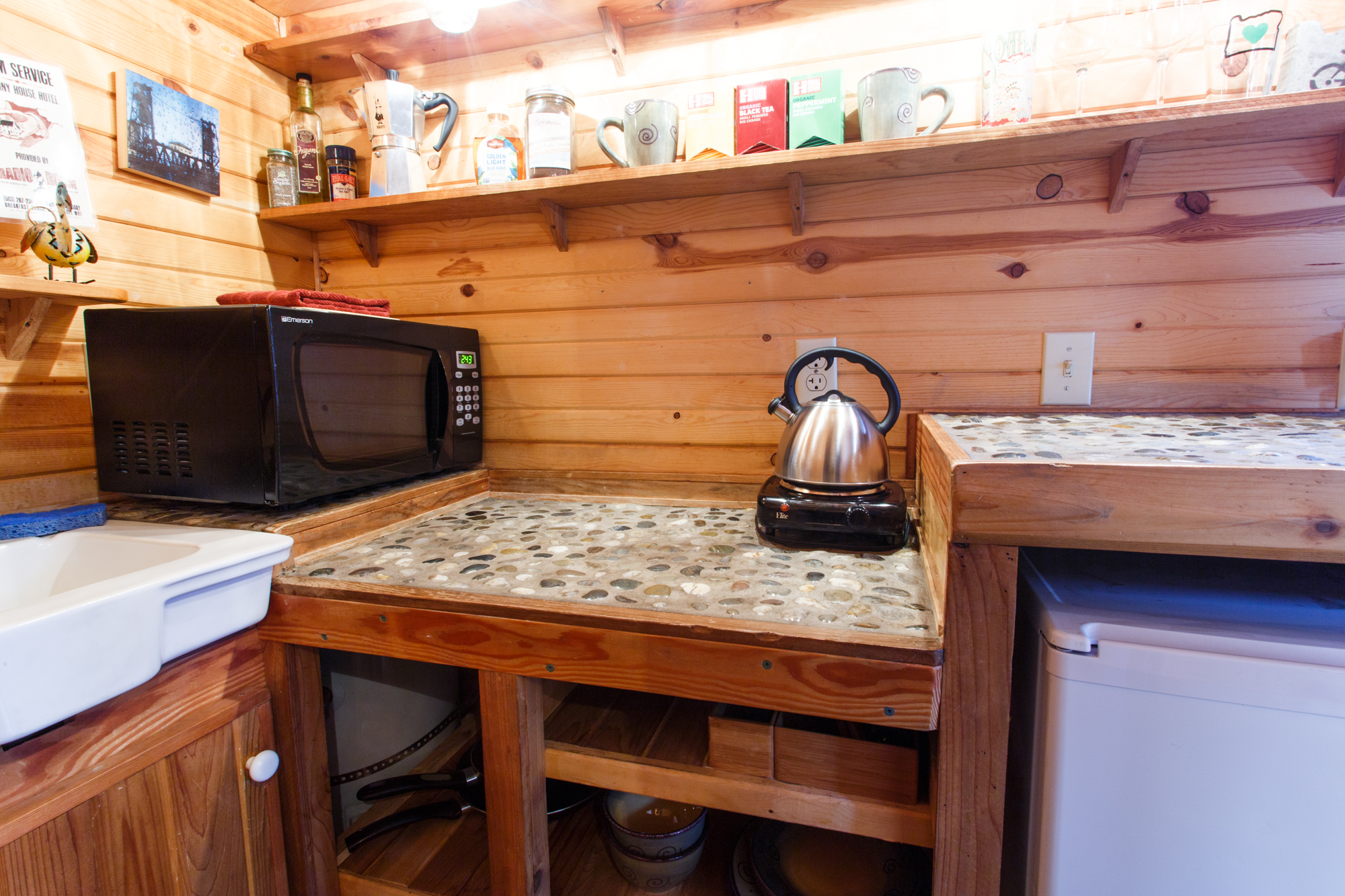 Tiny Home Kitchen Portland Oregon