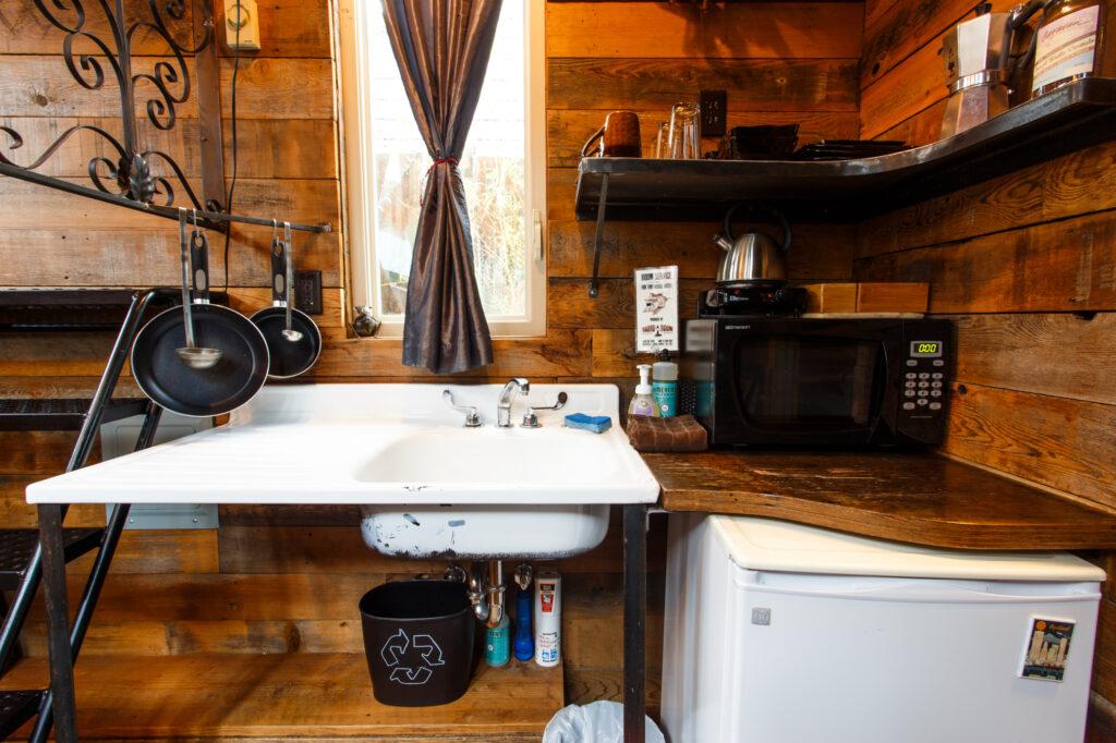 Tiny Home Kitchen Portland Oregon