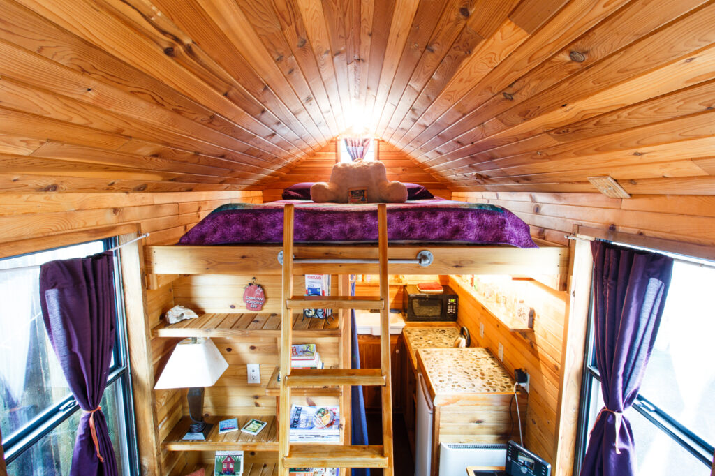 custom tiny home builder portland oregon