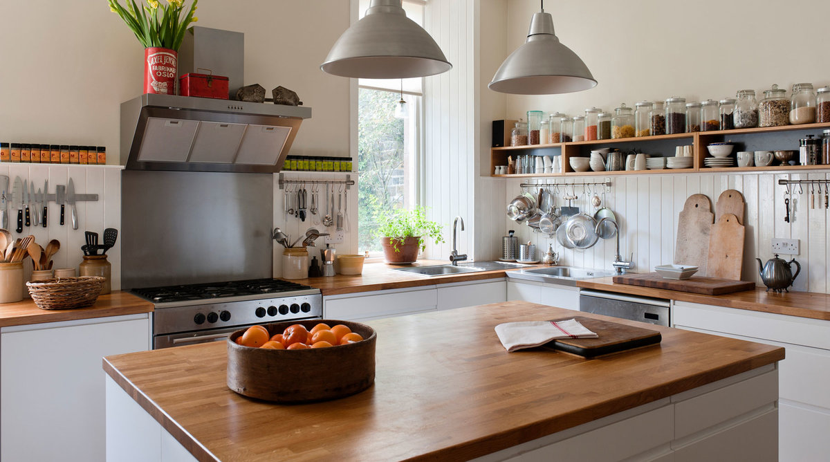 Kitchens With Butcher Block Counters : How to Pick the Right Material for Your New Kitchen Countertops