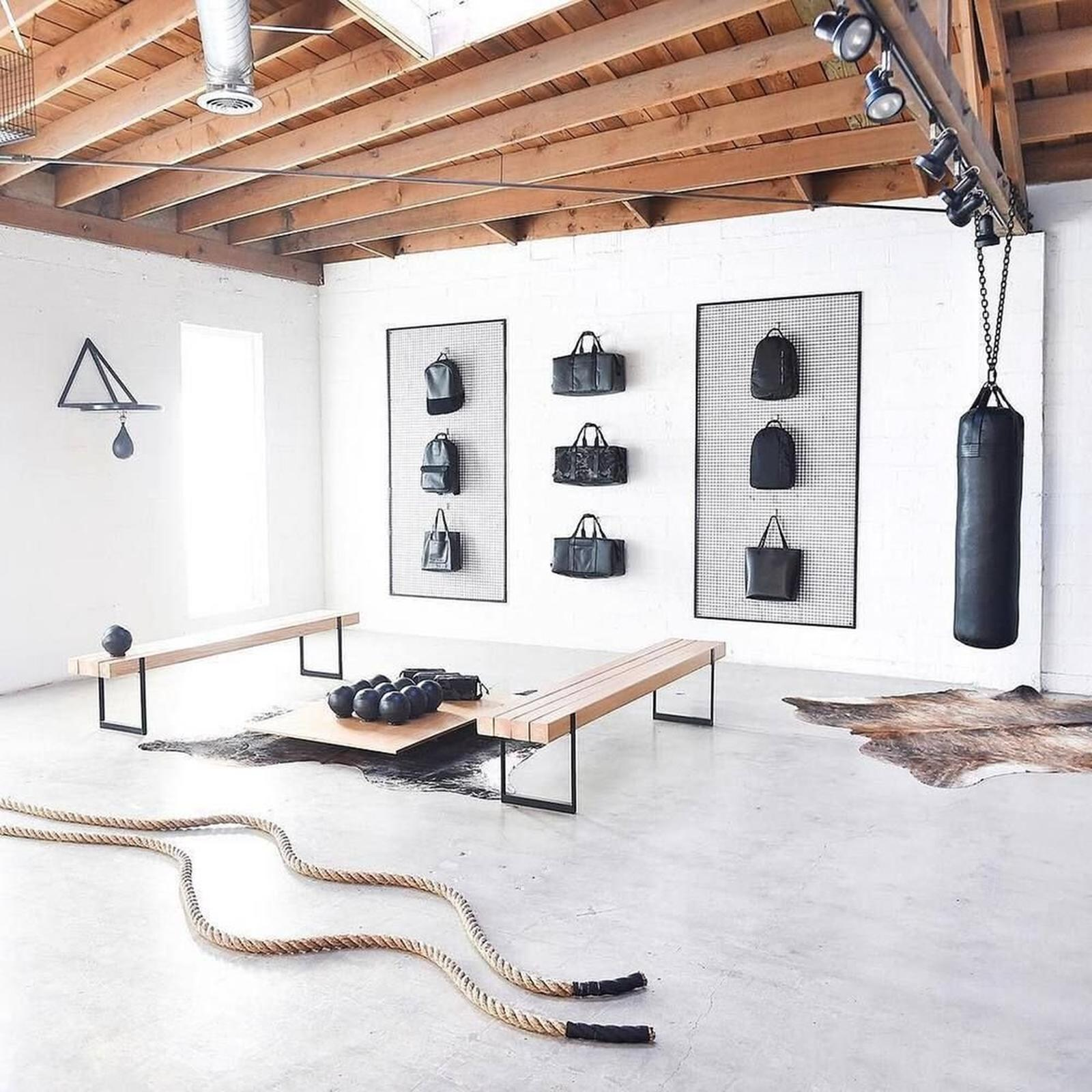 Home Gym Design Ideas Basement: Straight Line Design & Remodeling