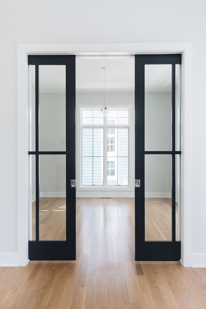example of pocket doors in adu or tiny home