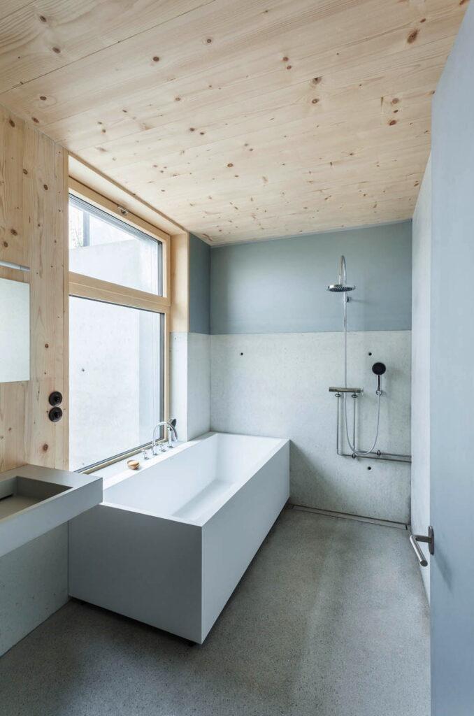 example of minimalist bathroom remodel