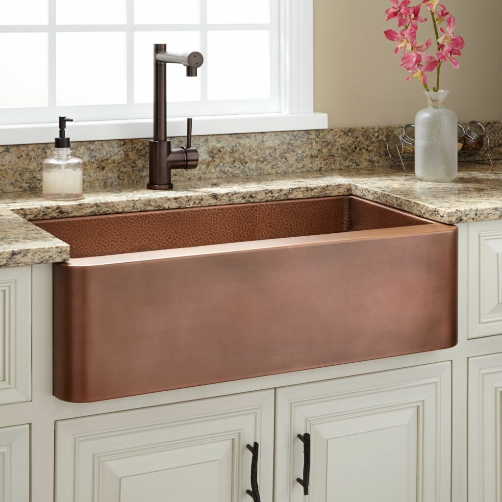 example of copper sink