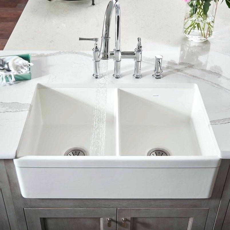 example of double basin sink