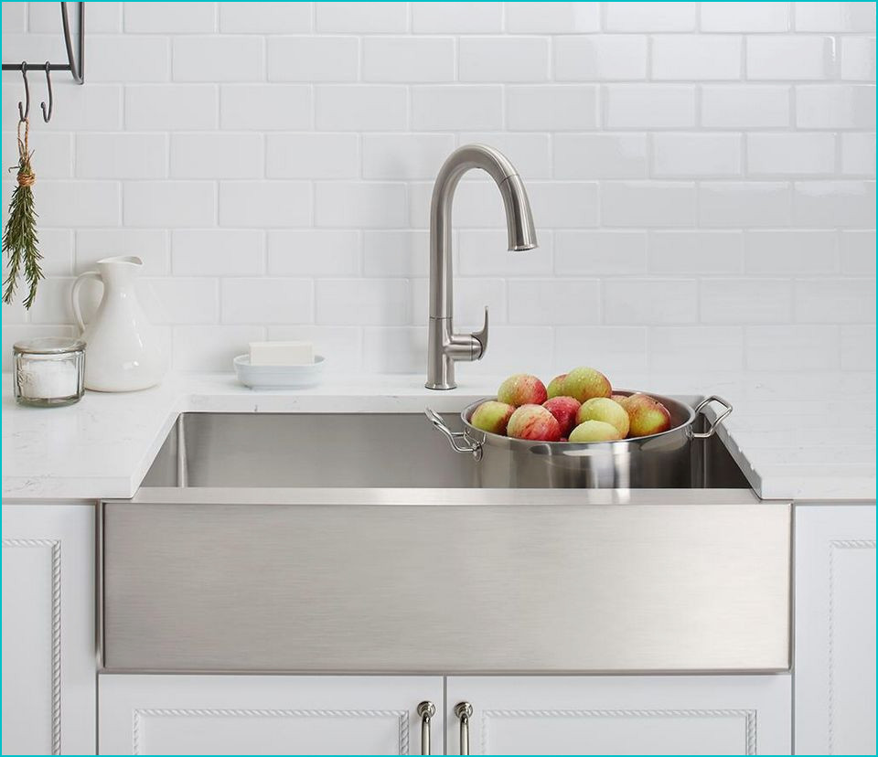 example of stainless steel sink