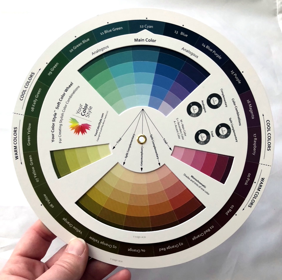 example of color wheel