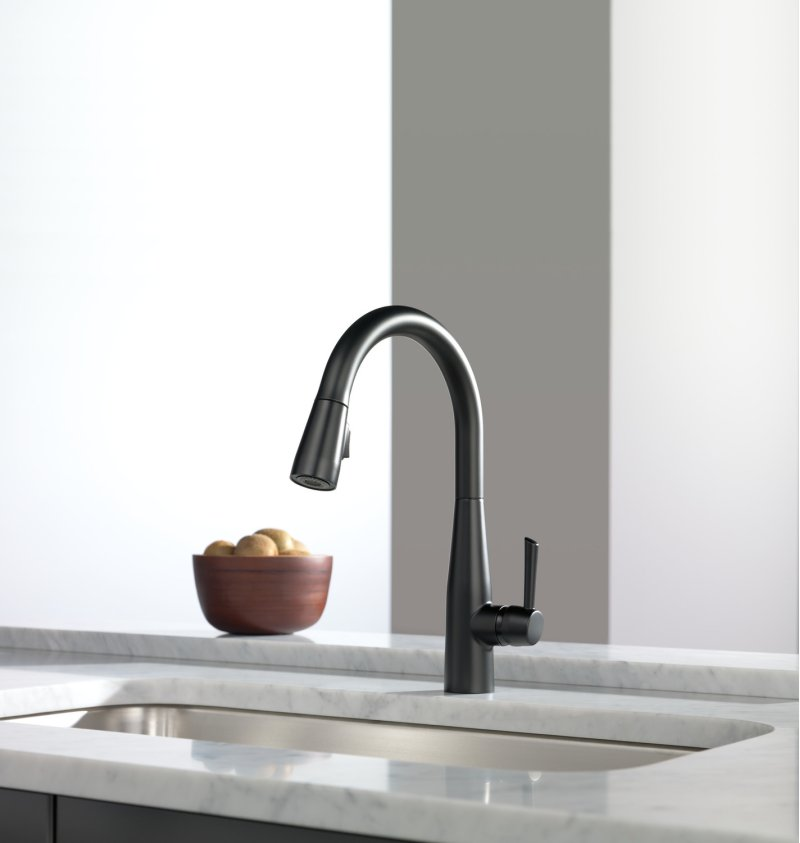 example of deck mounted faucet