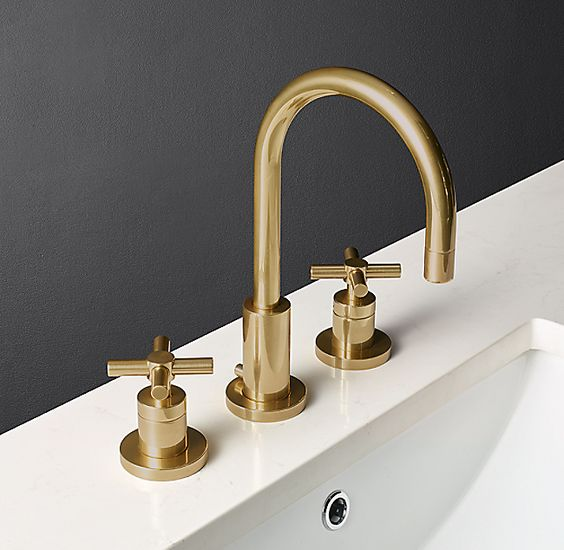 example of double handle faucet