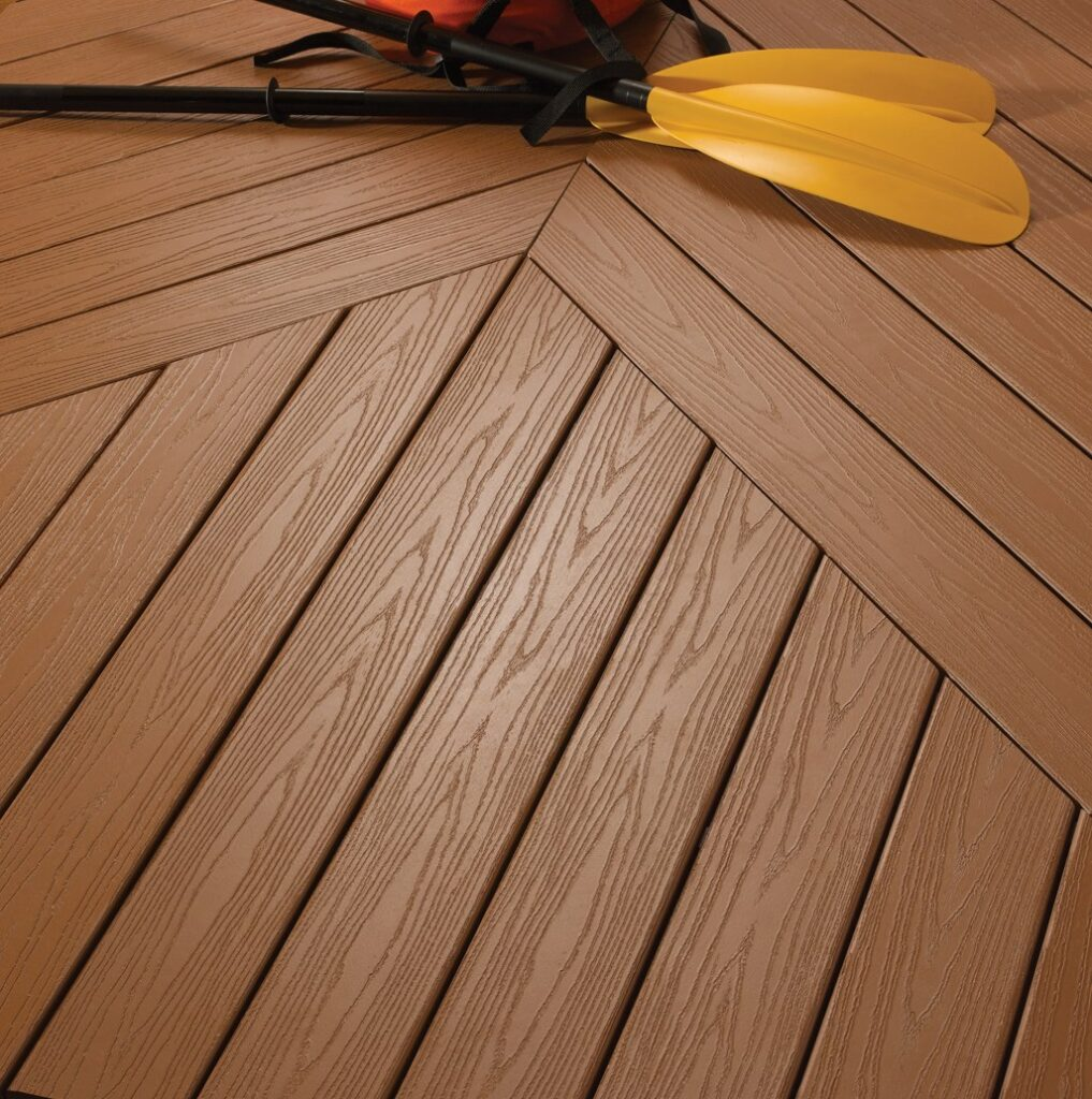 example of pvc decking