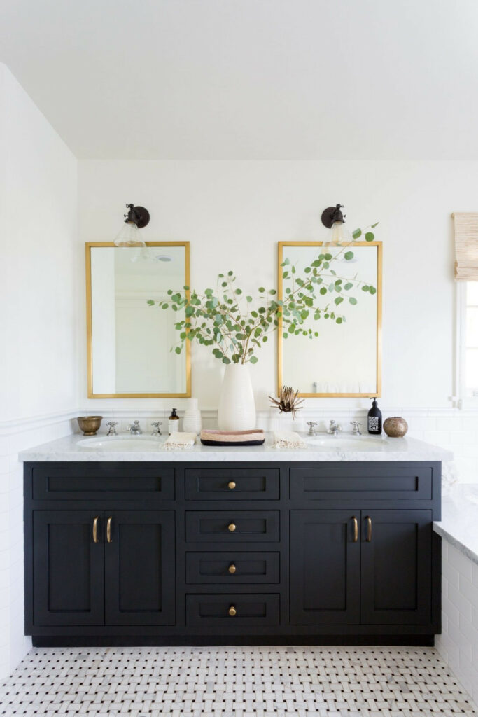 example of stylish bathroom vanity