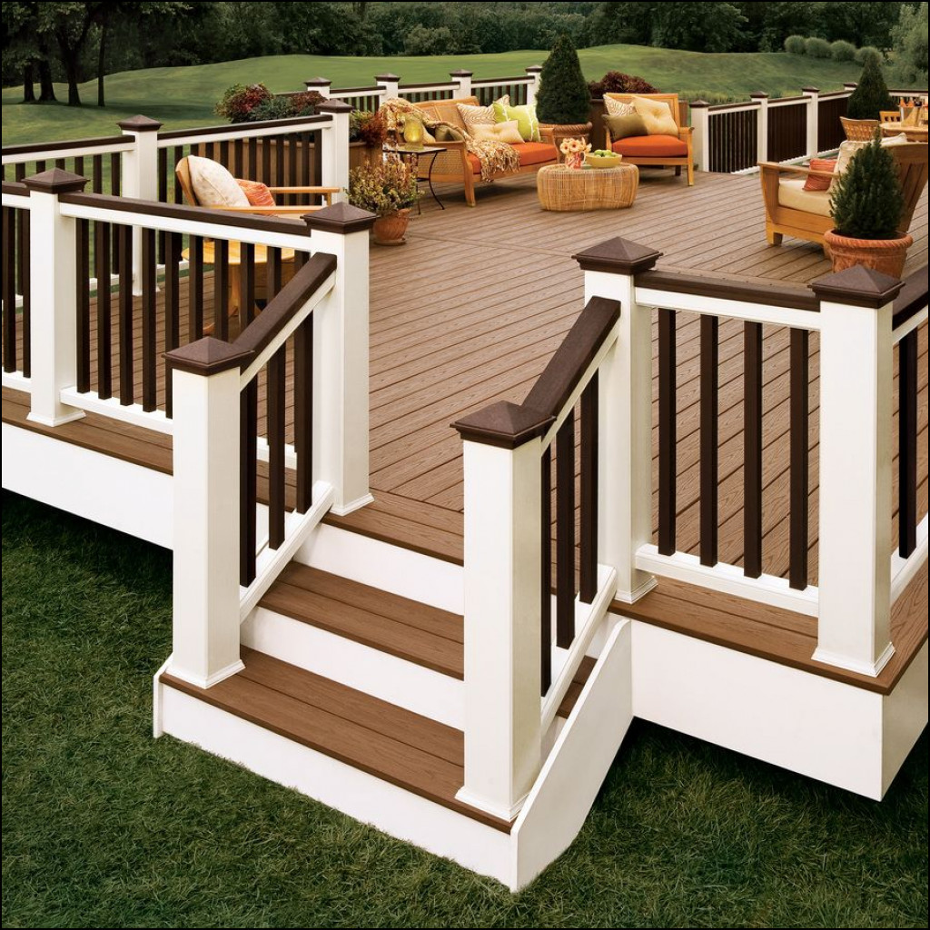 example of backyard deck