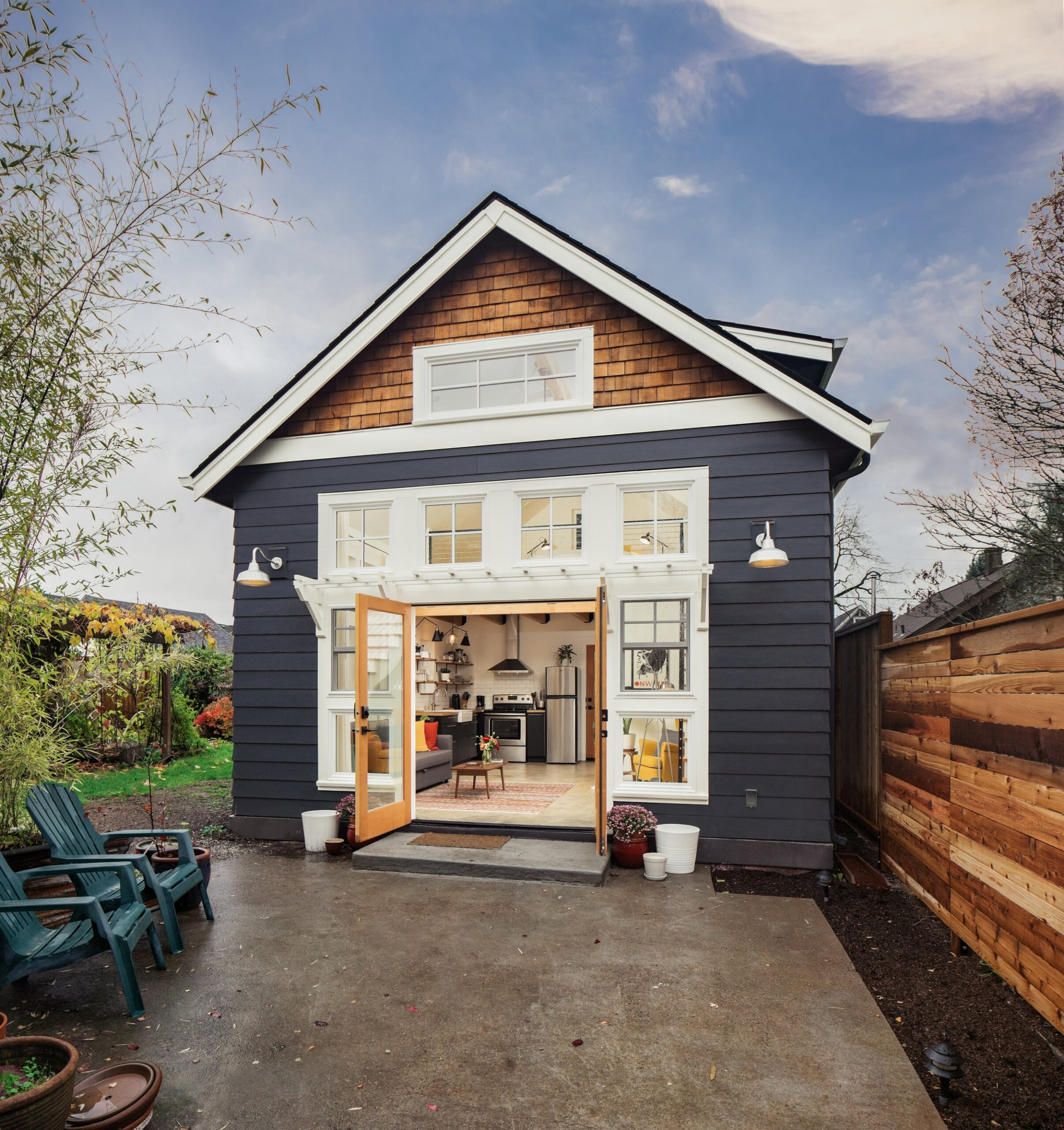 example of tiny home or adu built in portland oregon